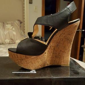 Wedges high sandals